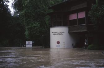 Hochwasser - Dählhölzli und BärenPark
